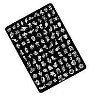 Пластиковая пластина для стемпинга F05 (10.5*14.5) Kodi