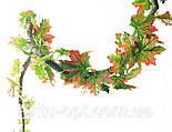 Ліана штучна 14 метрів клен, осінь, фото 3