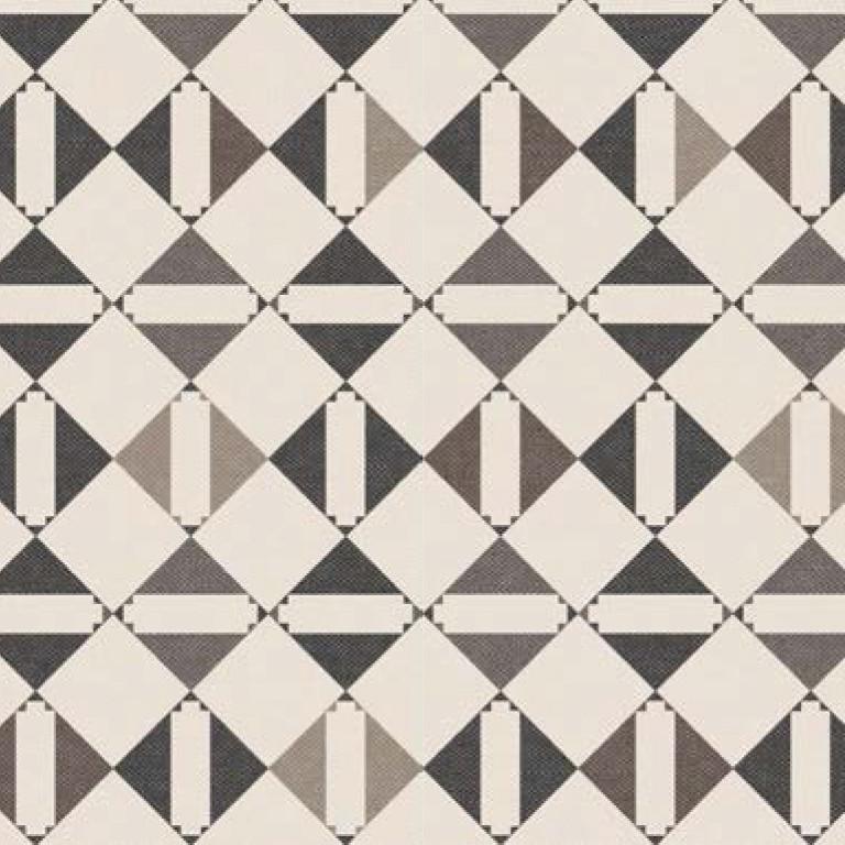 Мебельная ткань Triangle Beige 371204/105, велюр з принтом
