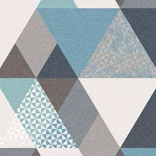 Меблева тканина Triangle Grey 371171/104, велюр з принтом
