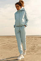 Костюм в спортивном стиле голубого оттенка S,M,L,XL, фото 1