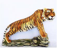 Садовая фигура тигр цветной 50*72*30 см