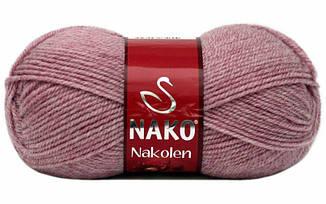 Пряжа Наколен Nakolen Nako, № 241, сухая роза