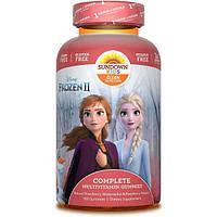 Sundown Kids Комплекс детских мультивитаминов в жевательных таблетках 180 шт Disney Frozen Multivitamin