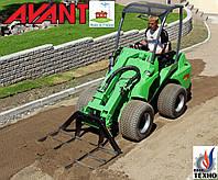 Мини погрузчик AVANT Финляндия для: Ландшафтный дизайн Сад (аналог Bobcat Бобкет) Погрузчик мини трактор