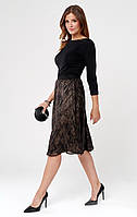 Sunwear юбка CC401 черного цвета, коллекция осень-зима 2020-2021