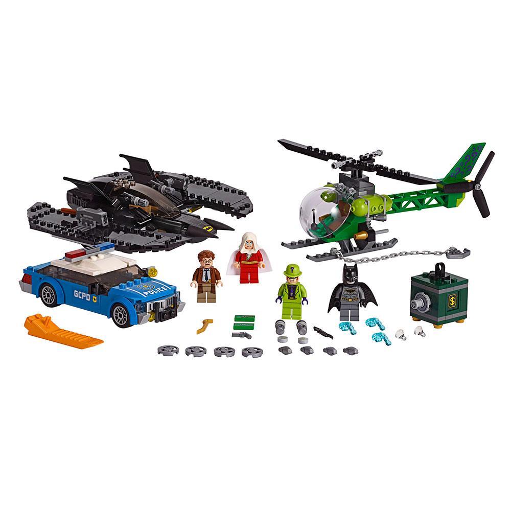 Конструктор LEGO Super Heroes Бэткрыло Бэтмена и ограбление Загадочника 489 деталей (76120)