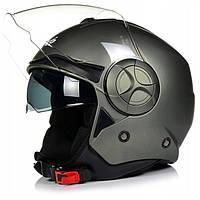 МОТОШОЛОМ Шлем NAXA відкритий S24/D/S, фото 1