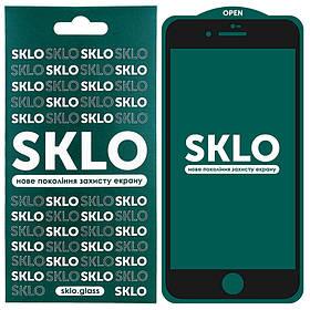 "Защитное стекло SKLO 5D (full glue) для Apple iPhone 7 / 8 / SE (2020) (4.7"")."