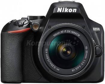 фотоаппарат Nikon D3500 + obiektyw AF-P 18-55