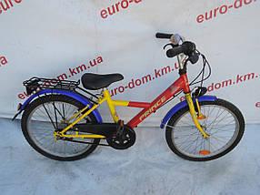 Горный велосипед Prince 20 колеса 3 скорости на планитарке