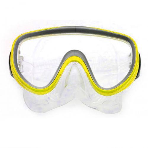 Маска Mask and Snorkel, желтый M109