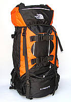 Туристический рюкзак The North Face Extreme на 80 литров оранж