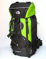 Туристический рюкзак The North Face Extreme на 80 литров салатовый