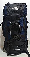 Туристический рюкзак The North Face Extreme на 80 литров синий цвет
