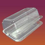 Одноразовий пластиковий контейнер з кришкою 220х160х110 мм, 100 шт/упаковка