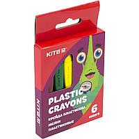"""Крейда пластикова """"Kite"""" K19-072-6 Jolliers 6кольорів, фото 1"""