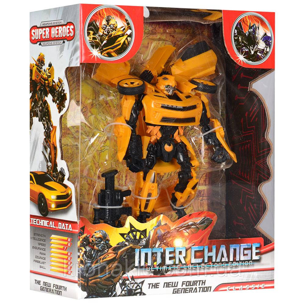 Іграшка для хлопчика трансформер-автобот Бамблбі / Transformer Bumblebee 4088