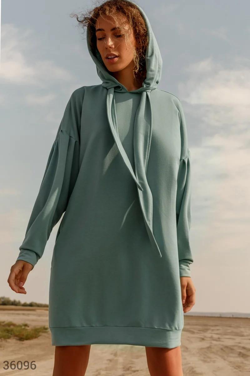 Oversize плаття-худі UN
