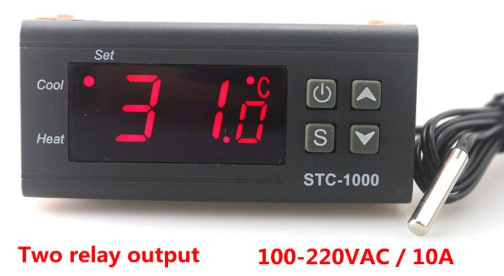 Терморегулятор STC-1000 220V