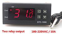 Терморегулятор STC-1000 220V, фото 1