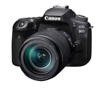 фотоаппарат Canon EOS 90D + obiektyw 18-135 IS USM