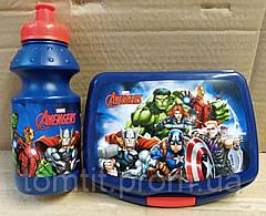 """Набор """"Avengers - Мстители"""". Бутылка и Ланч бокс (ланчбокс), фото 3"""