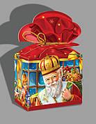 Упаковка для сладких подарков ко дню Святого Николая, оптом