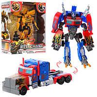 Игрушка для мальчика трансформер-автобот Оптимус Прайм / Transformer Optimus Prime 4088