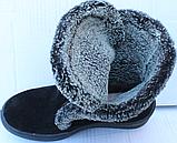 Ботинки женские зимние замшевые от производителя модель Ф118, фото 4