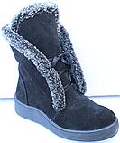 Ботинки женские зимние замшевые от производителя модель Ф118, фото 2