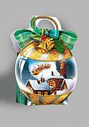 Упаковка для новогодних подарков оптом на вес до 250г, от 1 ящика