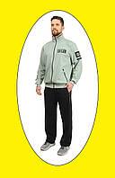 Р-р от 50 до 56, Мужской спортивный костюм, трикотажный повседневный