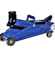 Домкрат подкатной Lavita LA FJ-02  2Т 130-330 мм синий