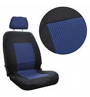 Чехлы автомобильные черно-синие ВАЗ 2108/ 2109-2115 Tuning A на небольшие сидения