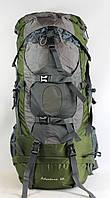 Туристический рюкзак LEADHAKE на 60 литров хаки