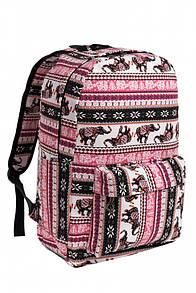 Рюкзак жіночий  pink elephant