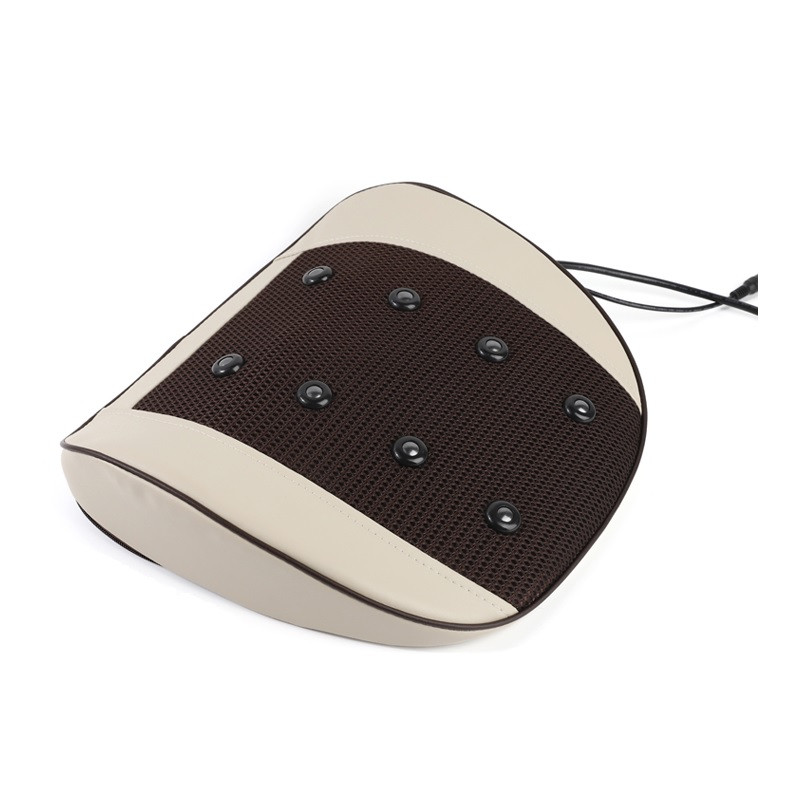 Автомобільна і домашня подушка з вібраційним масажем 6 режимів
