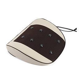 Автомобильная и домашняя подушка с вибрационным массажем 6 режимов