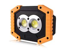 Кемпинговый аккумуляторный светильник 20Вт Power Bank с USB + 2 аккумулятора, LMP92 IP65