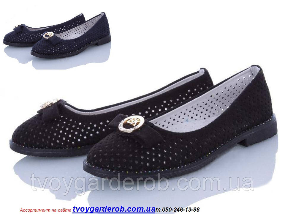 Туфли школьные для девочки KLF р 30-37 (код 9923-00) 34