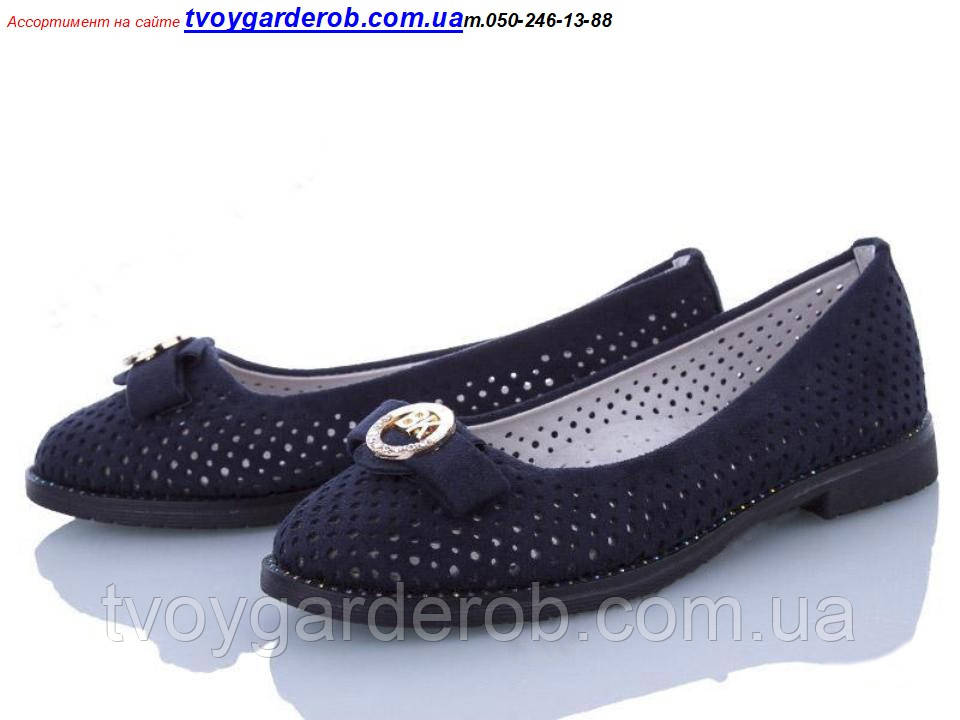 Туфли школьные для девочки KLF р 30-37 (код 9923-00) 30