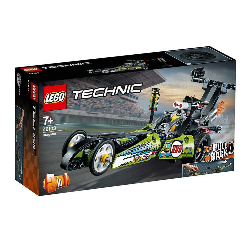 Конструктор LEGO Technic Драгстер (2 в 1) 225 деталей (42103)