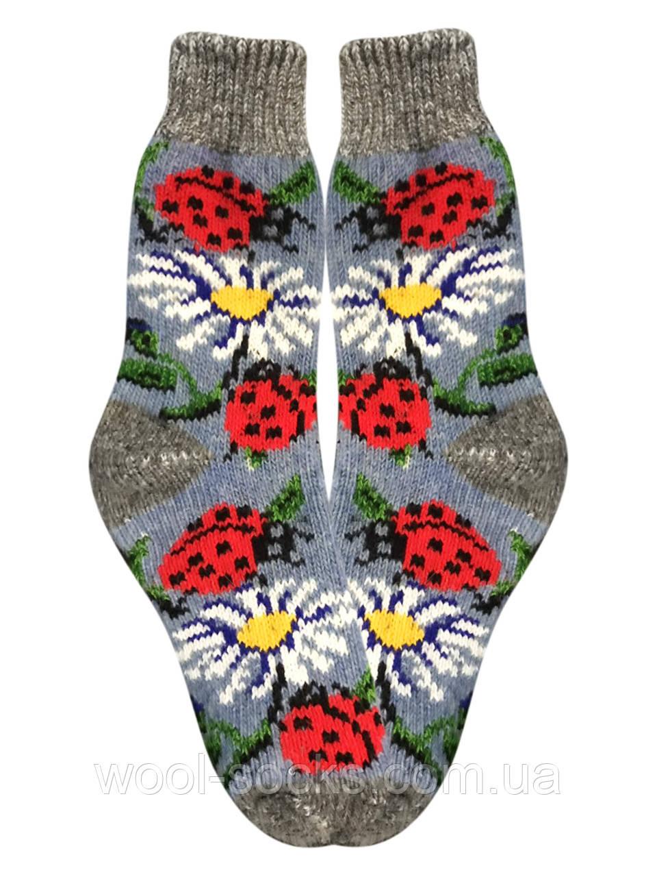 Шкарпетки ангорові в'язані жіночі