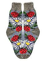 Носки ангоровые вязаные женские