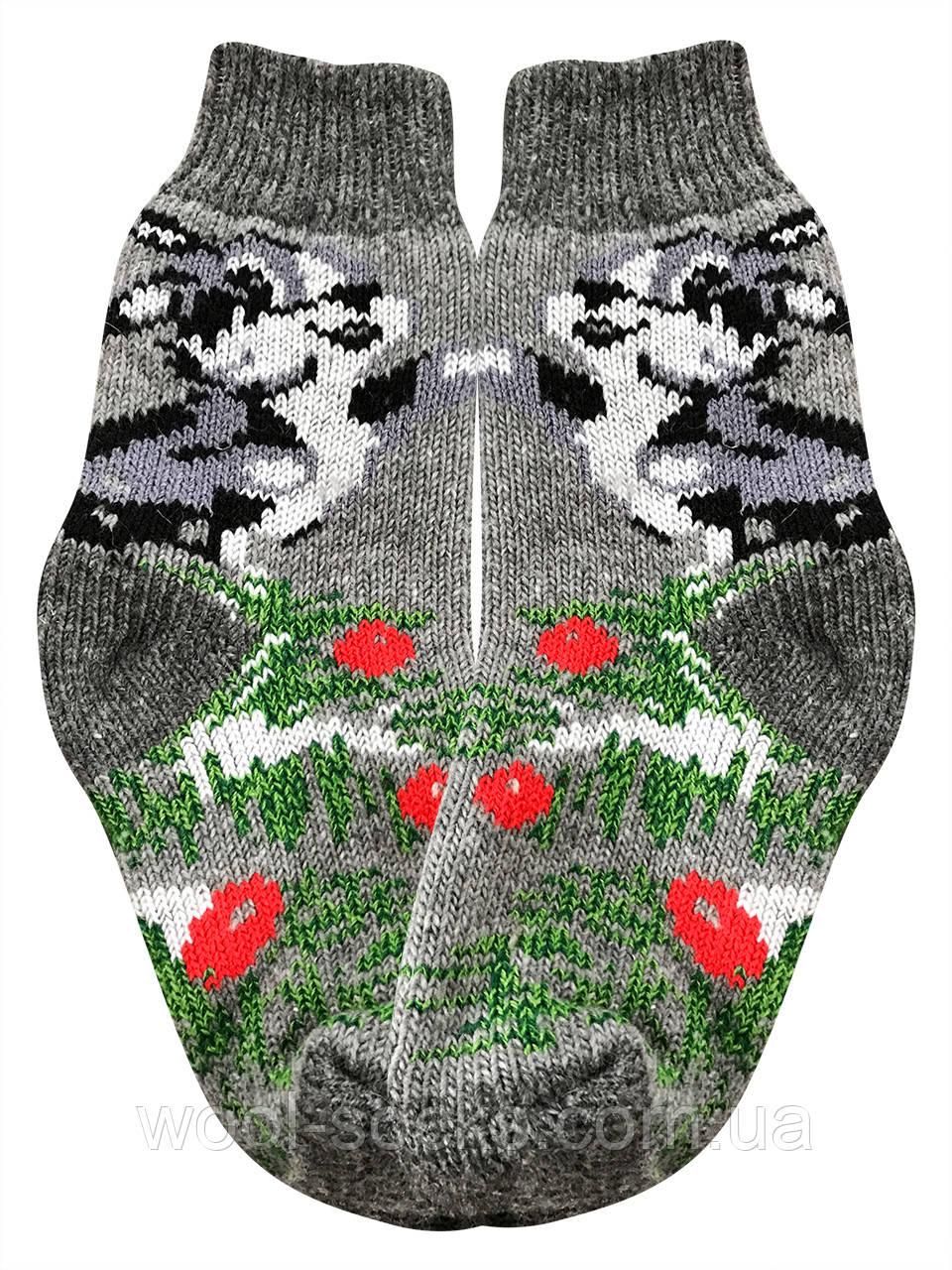 Носки теплые из шерсти