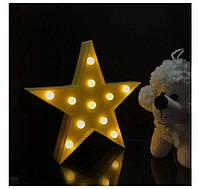 Декоративный LED светильник ночник Звездочка KS Funny Lamp Star