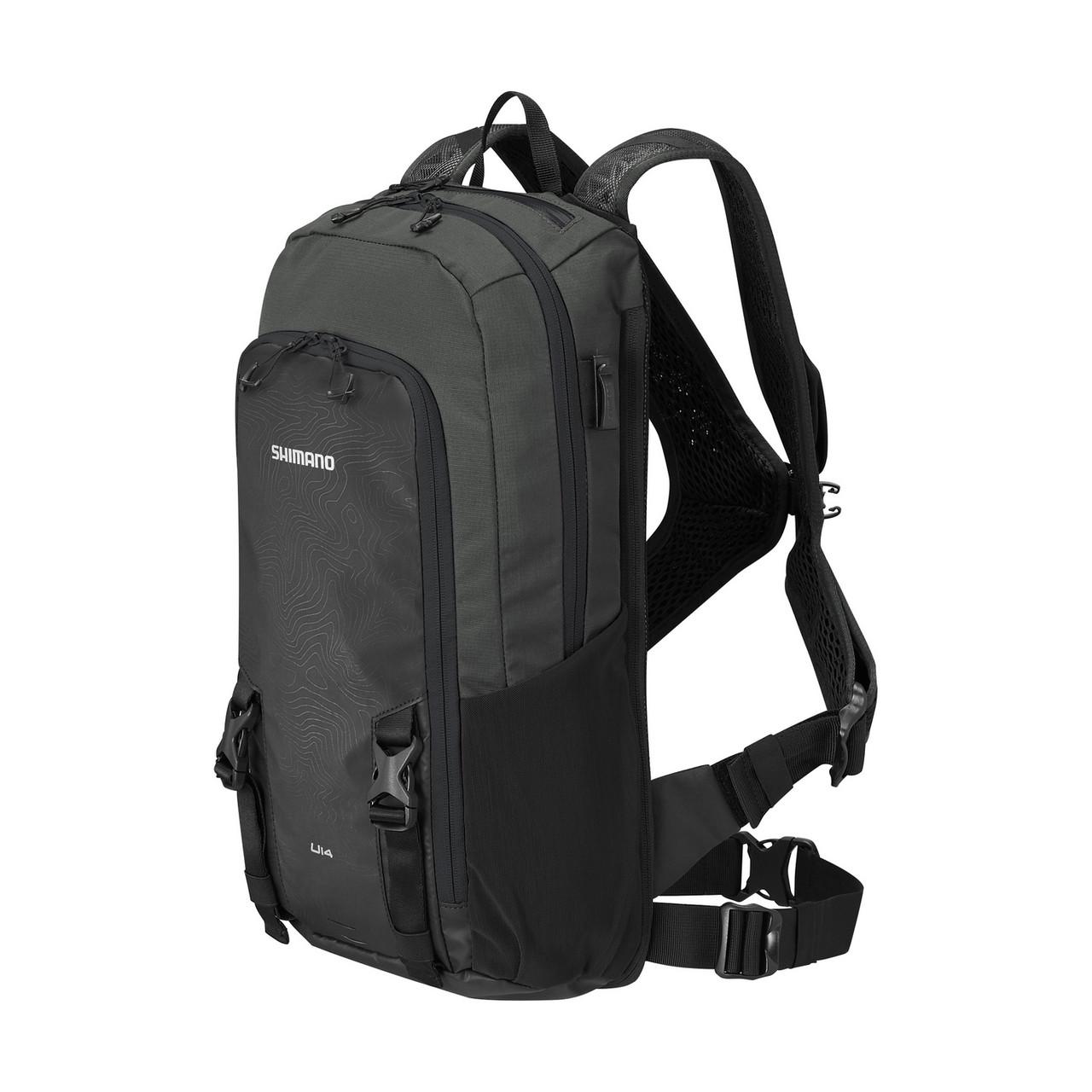 Рюкзак SHIMANO UNZEN II 14 L, чорний