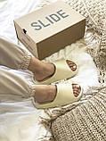 Тапки / Шльопанці Adidas Yeezy Slide Bone, фото 4