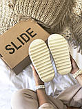 Тапки / Шльопанці Adidas Yeezy Slide Bone, фото 8